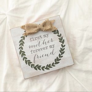 Other - Home Decor Wooden Sign